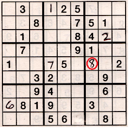 Sudoku grid illustrating hard puzzle challenge