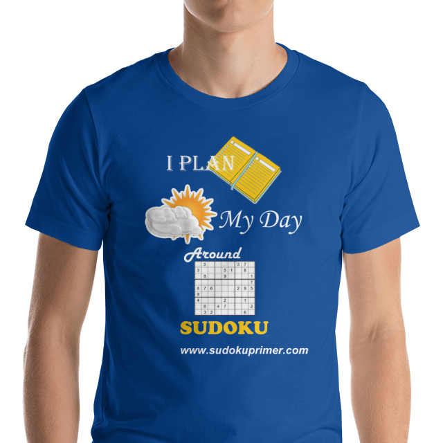 awesome sudoku t-shirt image
